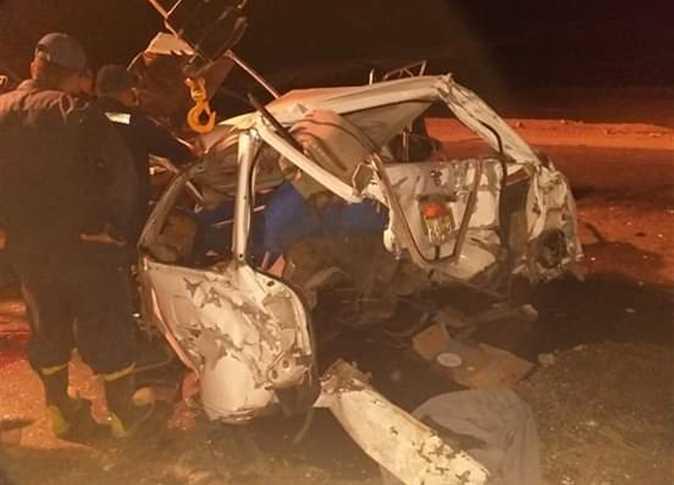 حادث سير يودي بحياة 4 سوريين من عائلة واحدة في مصر